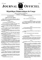 Décret n°09/61 du 03 décembre 2009 portant création et organisation d'un service public dénommé Direction Générale de la Dette Publique en sigle « DGDP »