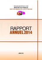DGDP_RAPPORT ANNUEL_2014